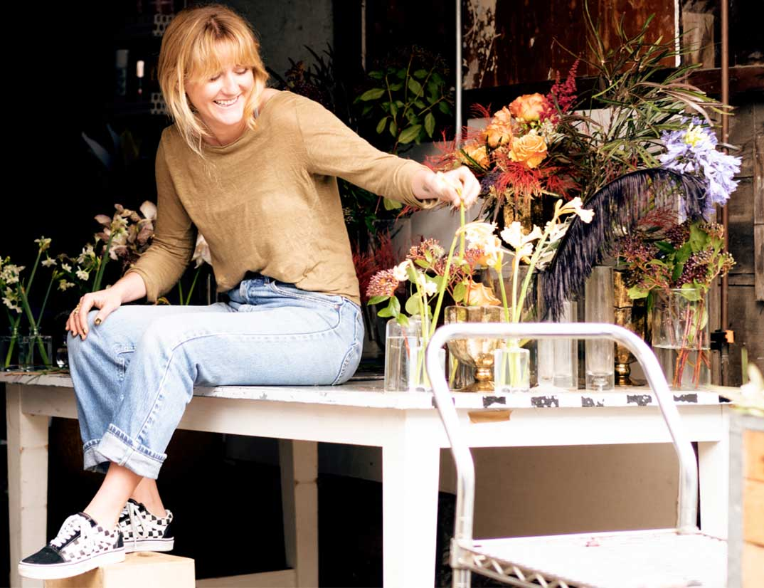 Christiana, the florist