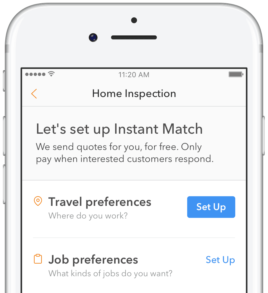 Instant Match is here.